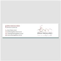 ÉRIKA MAGALHÃES, Logo e Identidade, Decoração & Mobília