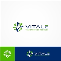 VITALE TRANSPORTE DE RESÍDUOS LTDA, Logo e Identidade, Ambiental & Natureza