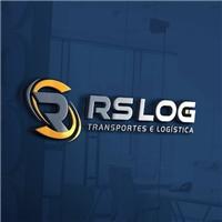 Transportadora RS LOG, Logo e Identidade, Logística, Entrega & Armazenamento