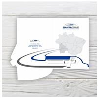Santa Cruz Logística Internacional Ltda, Logo e Identidade, Logística, Entrega & Armazenamento