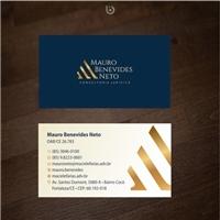 Mauro Benevides Neto - Consultoria Jurídica, Logo e Identidade, Advocacia e Direito