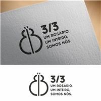3/3 UM ROSÁRIO, UM INTEIRO, SOMOS NÓS., Logo e Identidade, Roupas, Jóias & acessórios