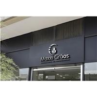 Maxxi grãos , Logo e Identidade, Consultoria de Negócios