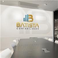 Batista Contabilidade, Logo e Identidade, Contabilidade & Finanças