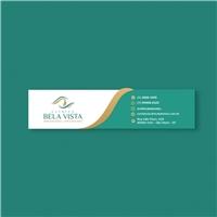 Clínica Bela Vista, Logo e Identidade, Saúde & Nutrição