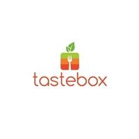 TASTEBOX, Logo e Identidade, Alimentos & Bebidas