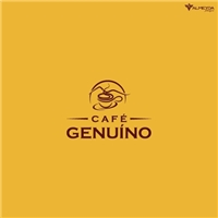 Café Genuíno, Logo e Identidade, Alimentos & Bebidas