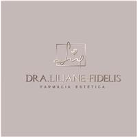 Dra Liliane Fidelis Farmácia Estética, Logo e Identidade, Beleza