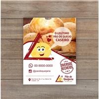 Pão de Quejaria Mineira , Peças Gráficas e Publicidade, Alimentos & Bebidas