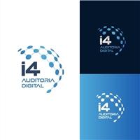 i4 Auditoria Digital, Logo e Identidade, Tecnologia & Ciencias