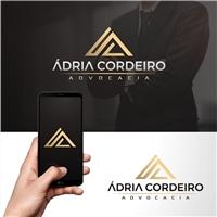 Ádria Cordeiro advocacia, Logo e Identidade, Advocacia e Direito