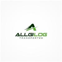 Allgi log  transportes, Logo e Identidade, Logística, Entrega & Armazenamento