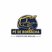 Pé de Borracha - Posto de Molas, Logo e Identidade, Automotivo
