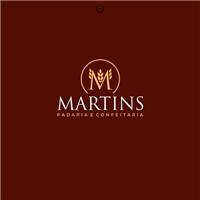 PADARIA E CONFEITARIA MARTINS, Logo e Identidade, Alimentos & Bebidas