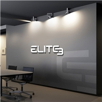 Elite 3, Logo e Identidade, Computador & Internet