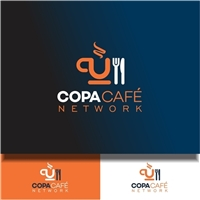 COPA CAFÉ NETWORK, Logo e Identidade, Alimentos & Bebidas