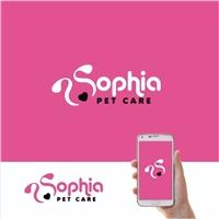 Sophia Pet Care, Logo e Identidade, Pets