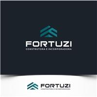 Fortuzi Construtora e Incorporadora, Logo e Identidade, Construção & Engenharia