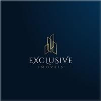 Exclusive Imóveis, Logo e Identidade, Imóveis