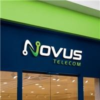 Novus Telecom, Logo e Identidade, Tecnologia & Ciencias