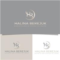Halina Berejuk Odontologia Especializada, Logo e Identidade, Odonto