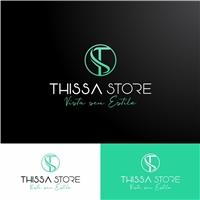 Thissa Store, Logo e Identidade, Roupas, Jóias & acessórios