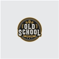 Old School Draft Beer, Logo e Identidade, Alimentos & Bebidas