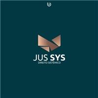 JUS SYS, Logo e Identidade, Advocacia e Direito