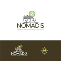 Nomadis, Logo e Identidade, Viagens & Lazer