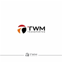 TWM Transportes, Logo e Identidade, Logística, Entrega & Armazenamento