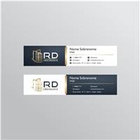 RD ENGENHARIA, Logo e Identidade, Construção & Engenharia