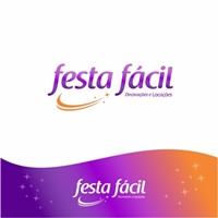 festa facil decorações, Logo e Identidade, Planejamento de Eventos