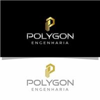 POLYGON ENGENHARIA, Logo e Identidade, Construção & Engenharia