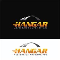 Hangar Acessórios Automotivos, Logo e Identidade, Automotivo
