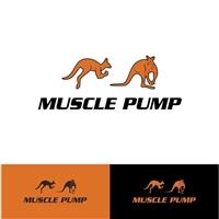 muscle pump, Logo e Identidade, Saúde & Nutrição