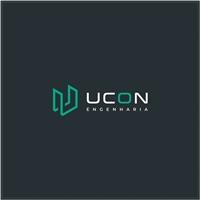 UCON Engenharia, Logo e Identidade, Construção & Engenharia