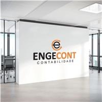 Engecont Ltda, Logo e Identidade, Contabilidade & Finanças