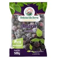 Delícias da Serra -  amoras pretas (congelados), Embalagens de produtos, Alimentos & Bebidas