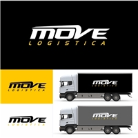MOVE LOGISTICA , Logo e Identidade, Logística, Entrega & Armazenamento