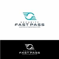 Fast Pass Security, Logo e Identidade, Logística, Entrega & Armazenamento