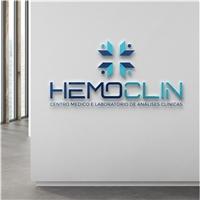 Hemoclin - Centro Medico e Laboratório de Análises Clínicas, Logo e Identidade, Saúde & Nutrição