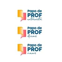 Papo de Prof, Logo e Identidade, Educação & Cursos