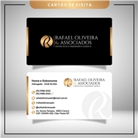 Rafael Oliveira & Associados - Advocacia e Assessoria Jurídica, Logo e Identidade, Advocacia e Direito