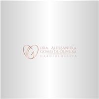 Dra ALESSANDRA GOMES DE OLIVEIRA, Logo e Identidade, Saúde & Nutrição