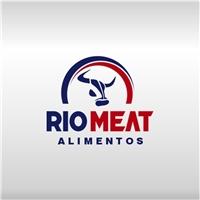 RIO MEAT ALIMENTOS, Logo e Identidade, Alimentos & Bebidas