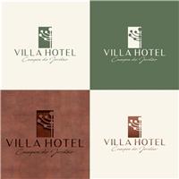 Villa Hotel Campos do Jordão, Logo e Identidade, Viagens & Lazer