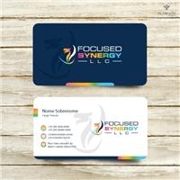 Focused Synergy LLC, Logo e Identidade, Consultoria de Negócios