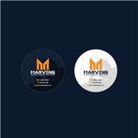 MARVENG DEMOLIÇÕES E TERRAPLENAGEM LTDA, Logo e Identidade, Construção & Engenharia