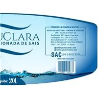 Água Natuclara, Embalagens de produtos, Alimentos & Bebidas
