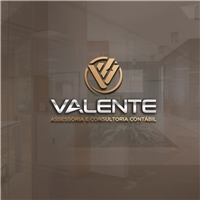 Valente Assessoria e Consultoria Contábil, Logo e Identidade, Contabilidade & Finanças